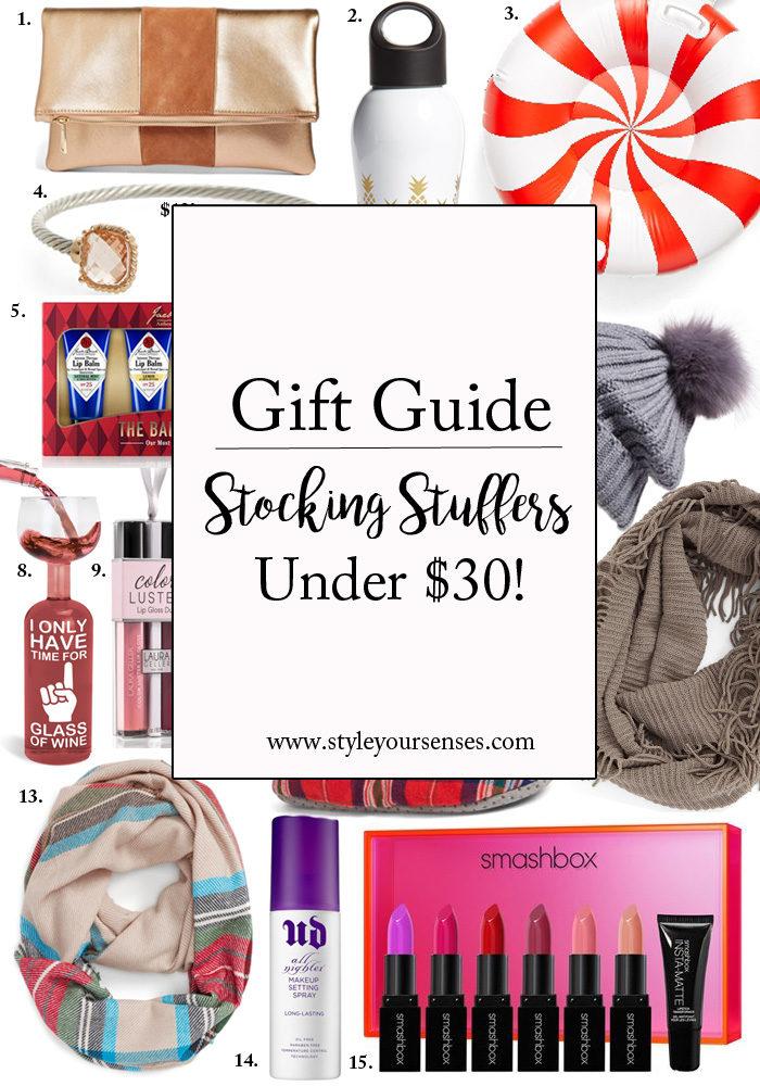 Stocking Stuffers under $30