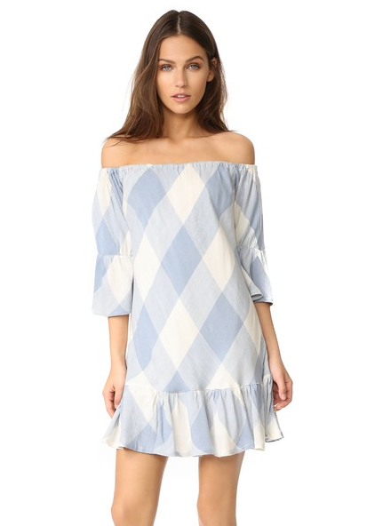 Tularosa plaid dress