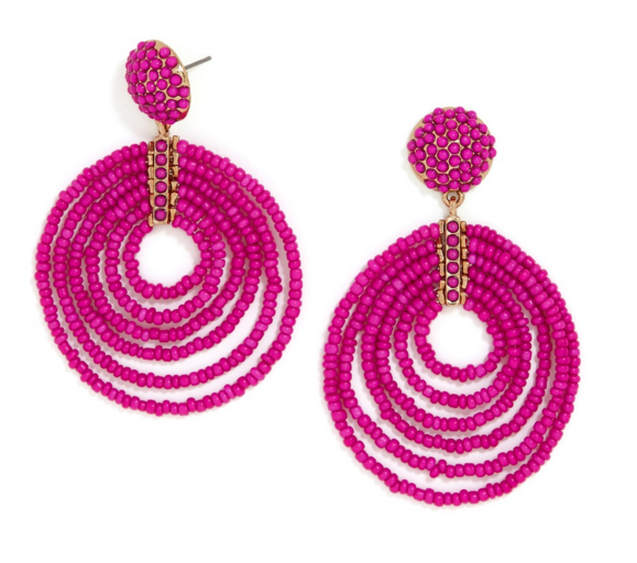 Lightweight statement earrings