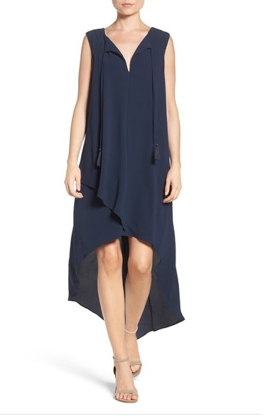 Super affordable high low swing dress