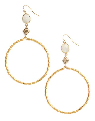 Lightweight Gold Hoops