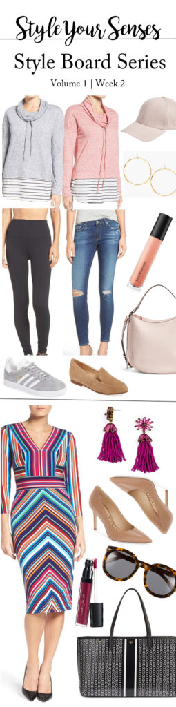 Style Board Seres | Chic casual outfits + a workwear play on color