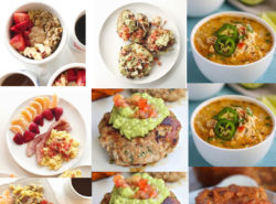 Whole 30 Week 4 meal plans
