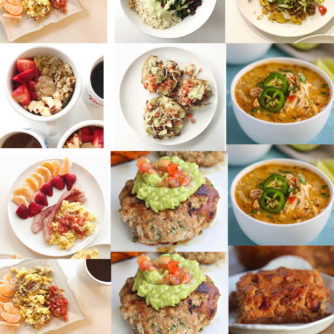 Whole30 Week 3 Update + Week 4 Whole30 Meal Plan