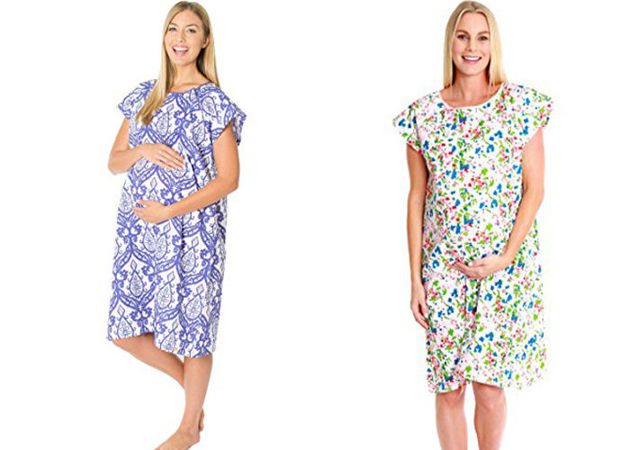 cute hospital delivery gowns