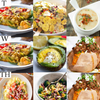 Whole 30 meal plan ideas plus why I chose this lifestyle change - Whole 30 Week 1 details featured by popular Texas lifestyle blogger, Style Your Senses