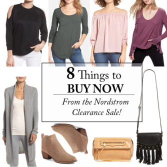 Instagram Roundup | January + Nordstrom Clearance!