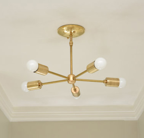 Brass Sputnik Light