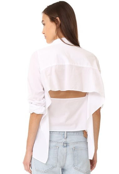 Cheap Monday Backless Shirt