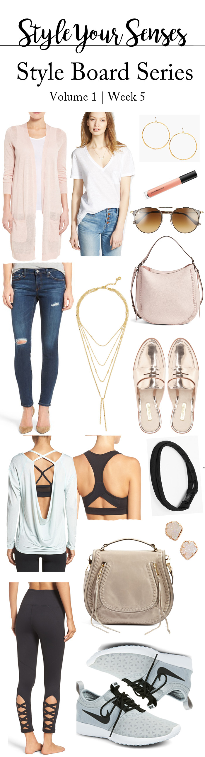 The Style Board Series: A casual outfit + an Athleisure look!