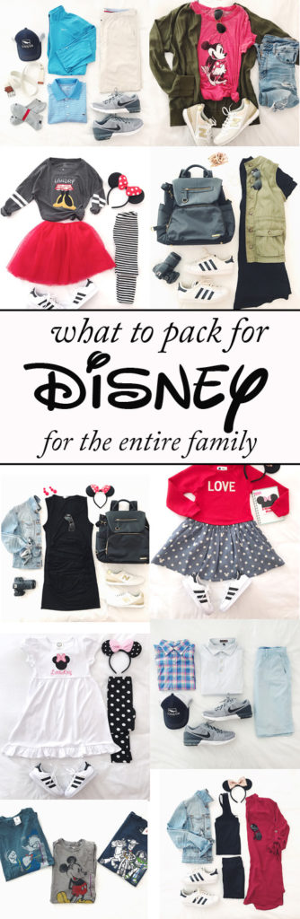 What to pack for Disney for the entire family
