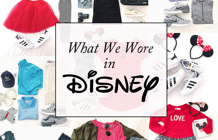 What We Wore to Disney!