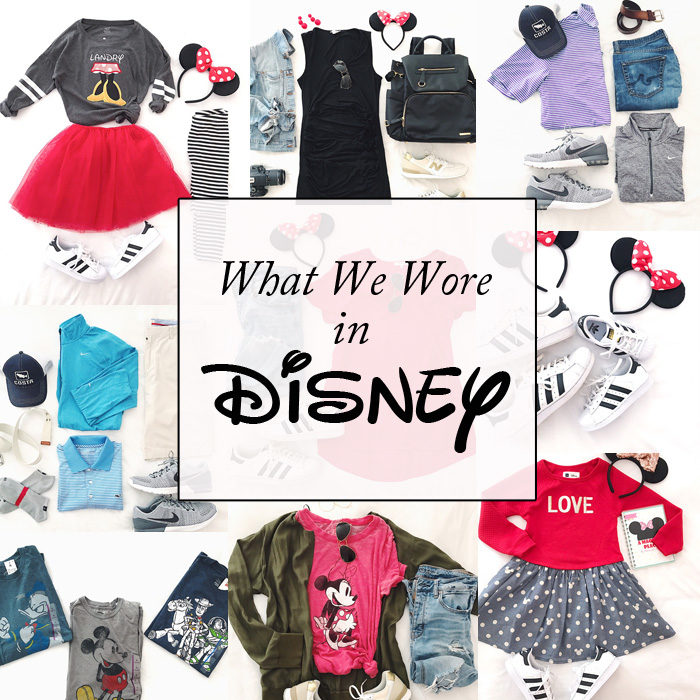 What we wore in Disney