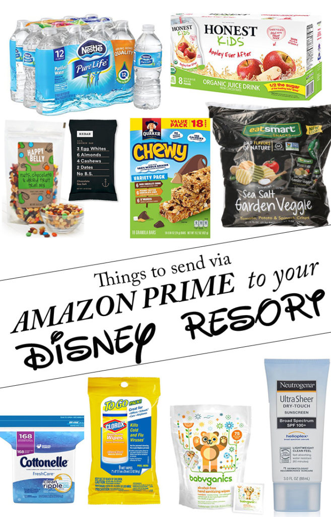 What to send to Disney via Amazon Prime