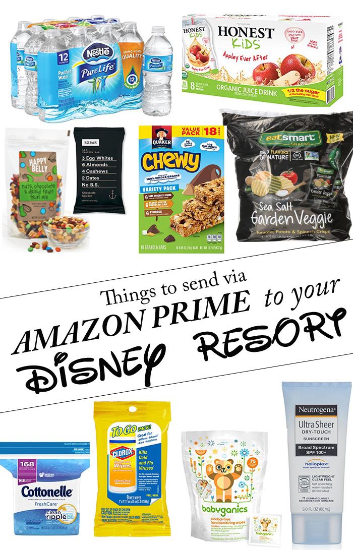 What to send to Disney via Amazon Prime