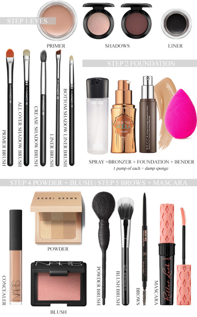 5 minute makeup must haves