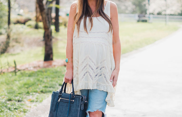 Lace Tunic Top 4 Ways for Spring!