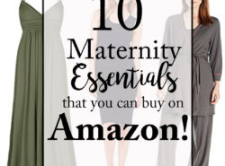 Maternity Essentials that you can buy on Amazon