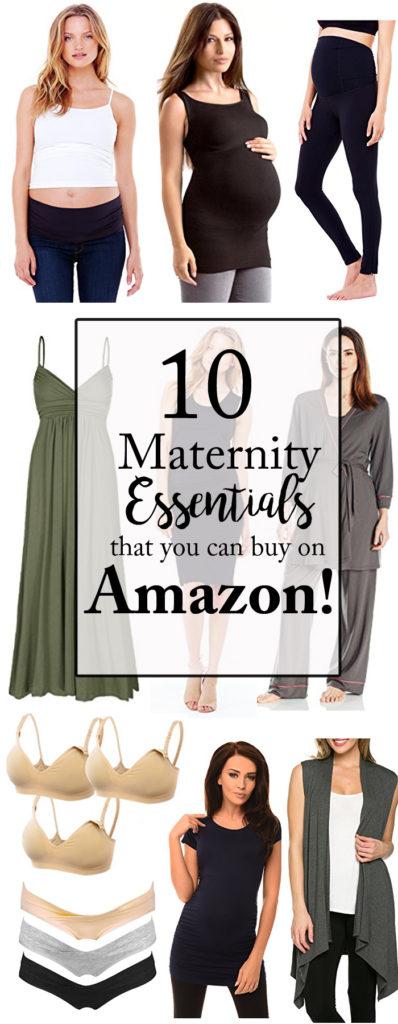 Maternity Essentials found on Amazon featured by popular Dallas style blogger, Style Your Senses