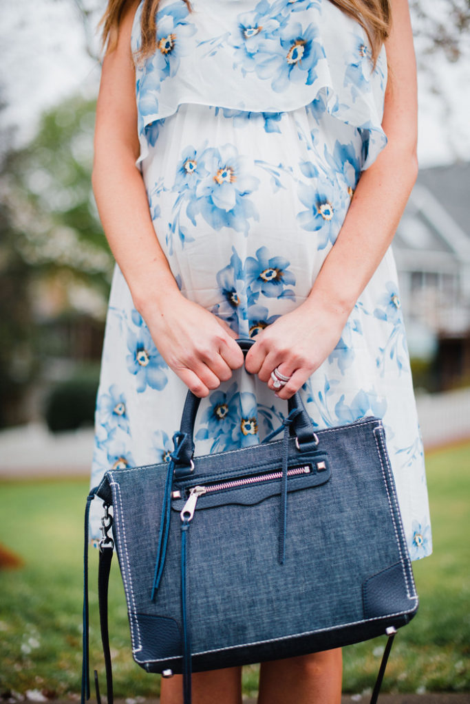 Rebecca Minkoff denim Regan satchel