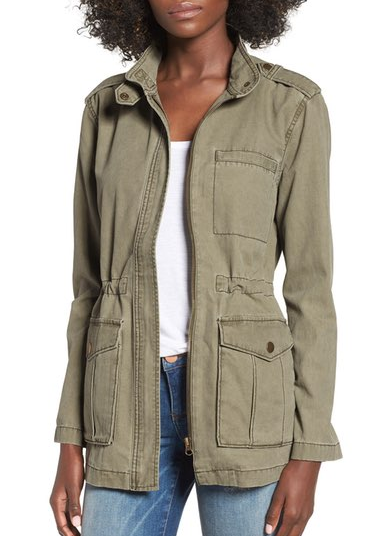 Cotton Utility Jacket on sale