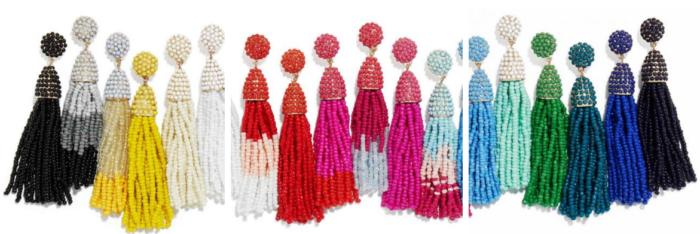 BaubleBar Tassel earrings on sale