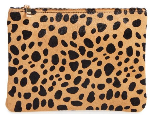 Leopard Clutch | $45!