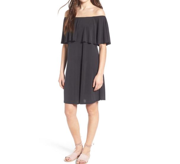 off the shoulder dress on sale