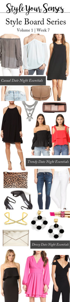 Style Board Series   An outfit for every kind of Spring Date Night