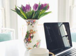 MacKenzie Childs Flower Garden Vase