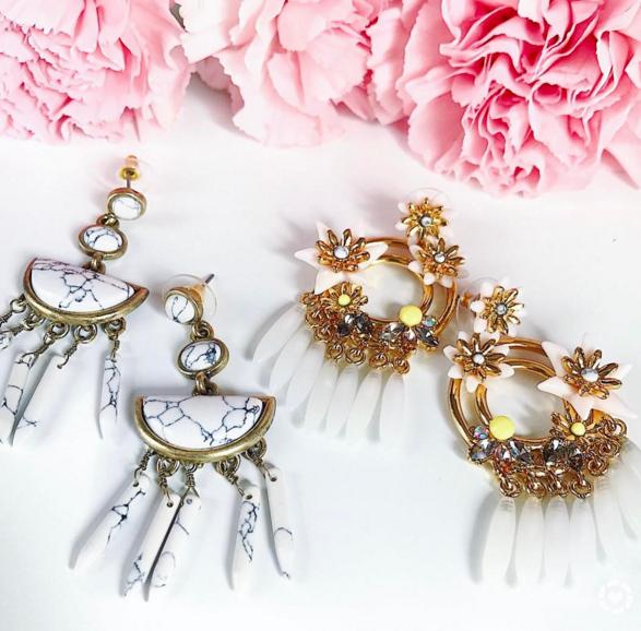 Baublebar earrings for Spring