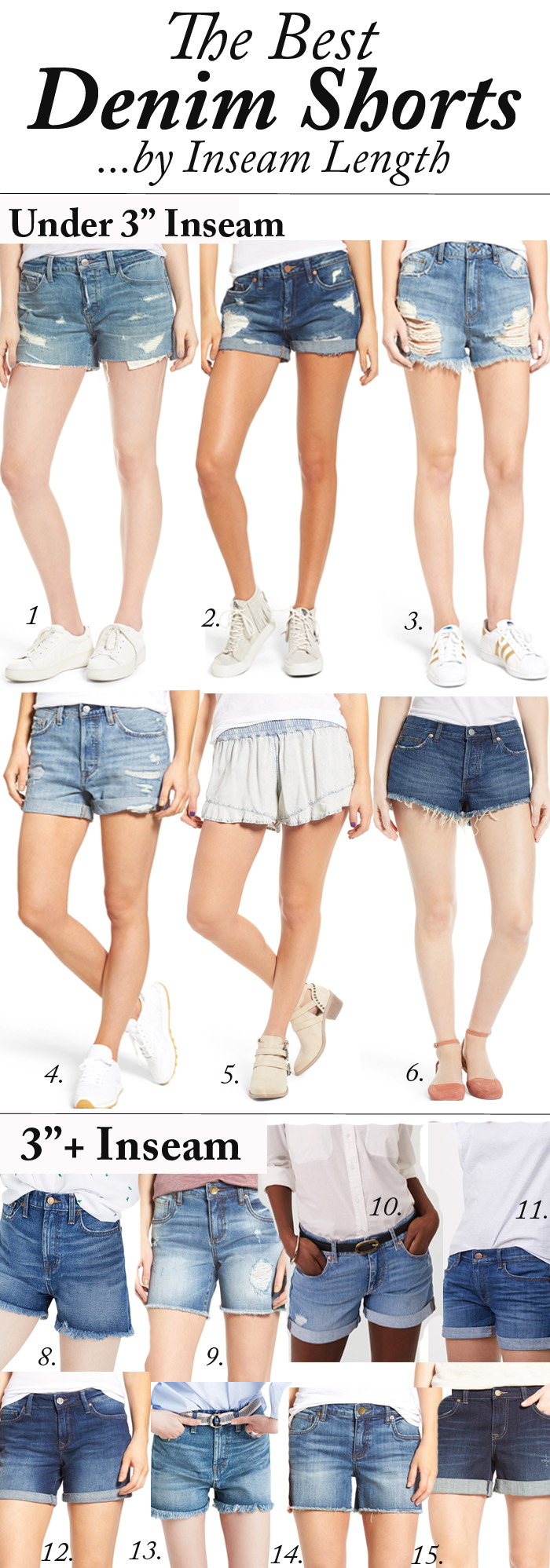 Best Denim Shorts UNDER $100!