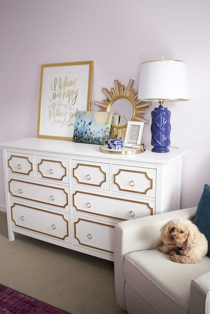 DIY Ikea Hack using O'verlays on the Hemnes 8 drawer chestDIY Ikea Hack using O'verlays on the Hemnes 8 drawer chest featured by popular Texas lifestyle blogger, Style Your Senses
