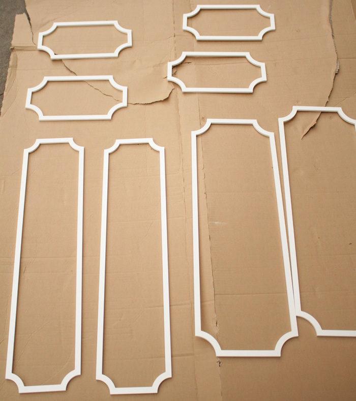 DIY Ikea Hack using O'verlays on the Hemnes 8 drawer chest