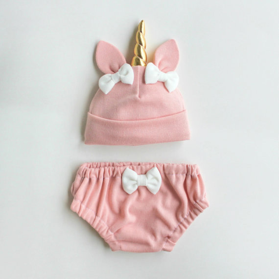 unicorn baby hat