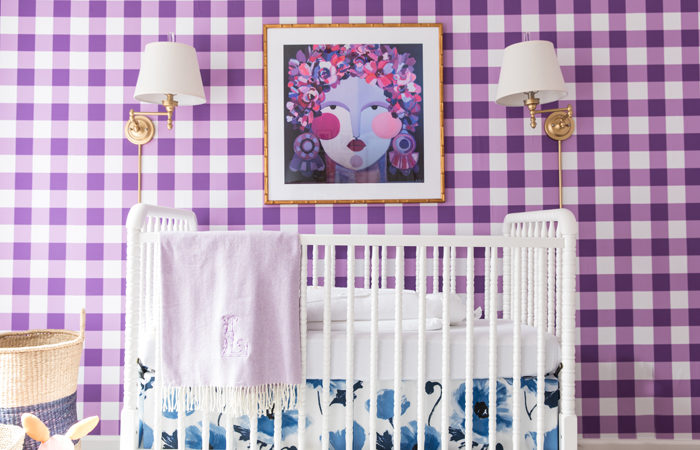 Bright + Bold Baby Girl Nursery Reveal!