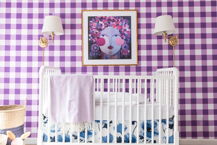 Bright + Bold Baby Girl Nursery Reveal!