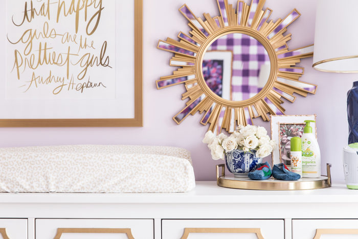 Nursery Changing Table Styling