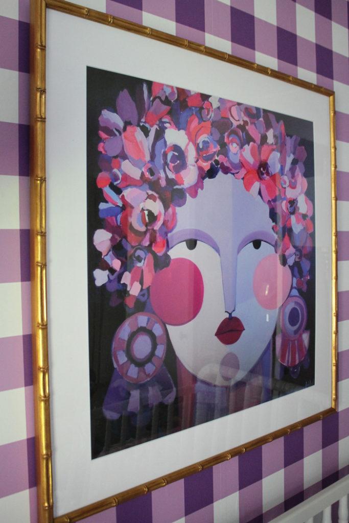 Hayley Mitchell Art framed by Framebridge
