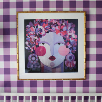 Nursery Art Selections + Custom Frames