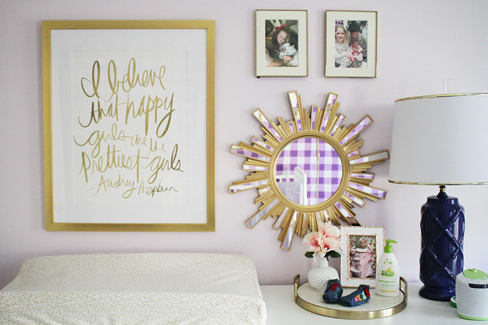 calligraphy art that's an instant download from etsy, framed by framebridge