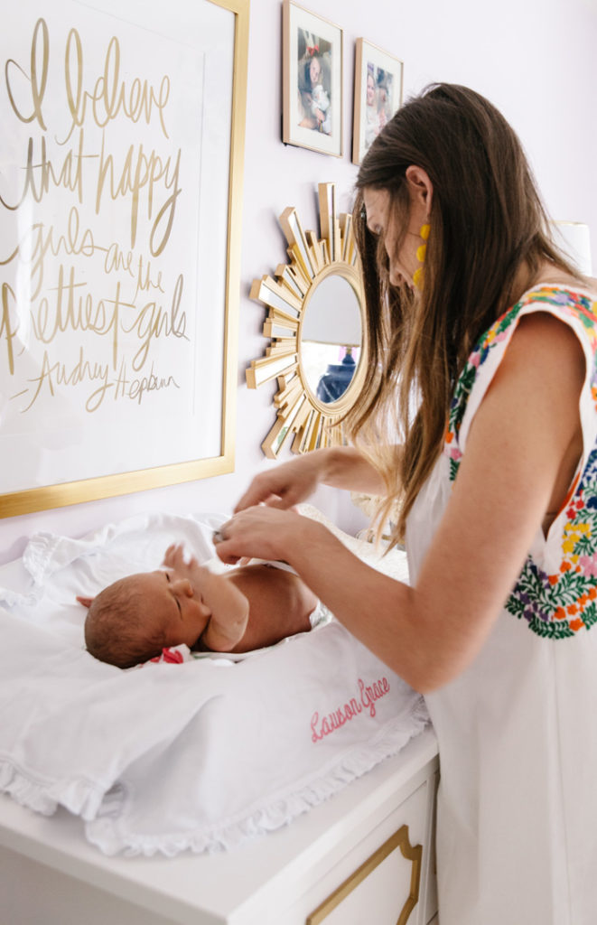 on being a mom with pampers swaddlers