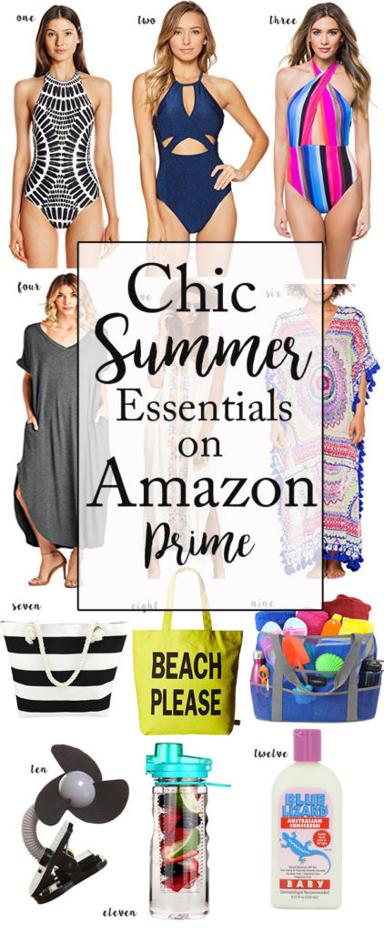 Pool Essentials from Amazon Prime, featured by popular Dallas fashion blogger, Style Your Senses
