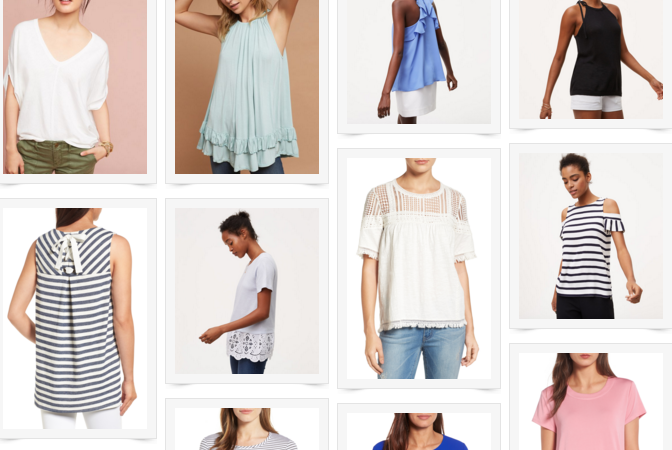 Tops Under $50 + Nordstrom Anniversary Sale 2017