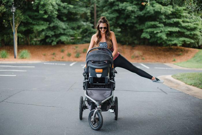 Postpartum exercise ideas with Repreve