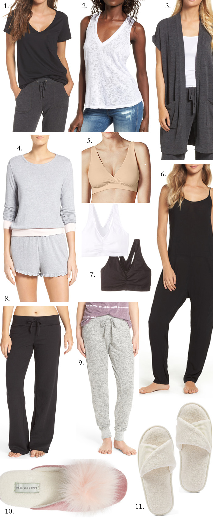 Style Board Series: Comfy Loungewear + Cute PJs