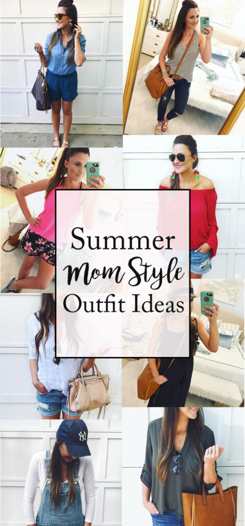 summer mom style outfit ideas