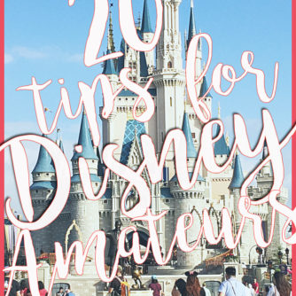 tips for planning a trip to Disney