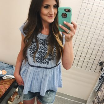 Nordstrom fit review: Tees + Tanks for Summer