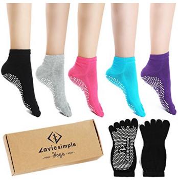 Pilates Toe Socks
